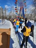 Районные соревнования по лыжным гонкам в зачёт спартакиады