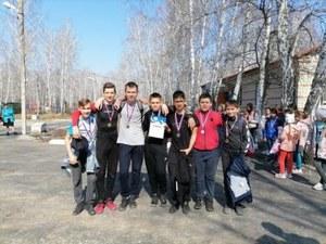 Районные соревнования по туризму