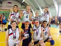 Соревнования по волейболу в с.Уйское